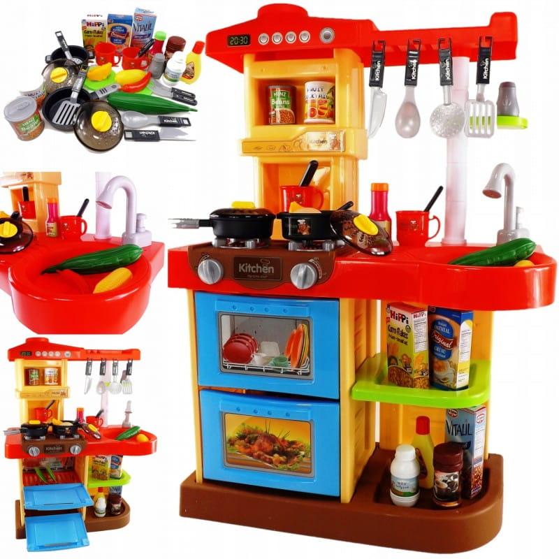 Kuchnia Dla Dzieci Dziewczynki Chlopca Garnki Na Roczek 2 Latka 3 Latka 41 Elementow B17c Twojadzidzia Pl